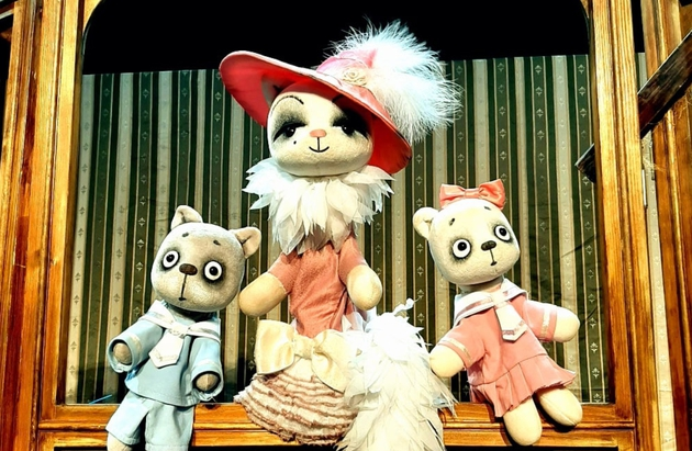 Кошкин дом кукольный театр своими руками 84